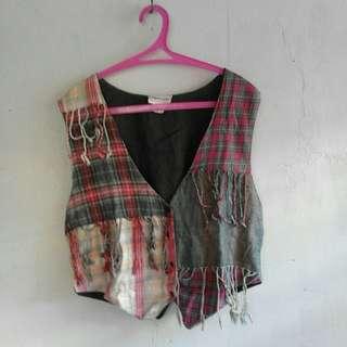 Checkered Vest
