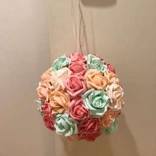 Flower / kissing balls for wedding