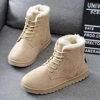 sepatu boots musim dingin