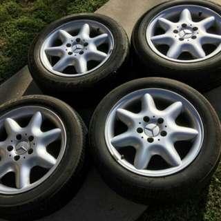 Mercedes original 15 inch rim