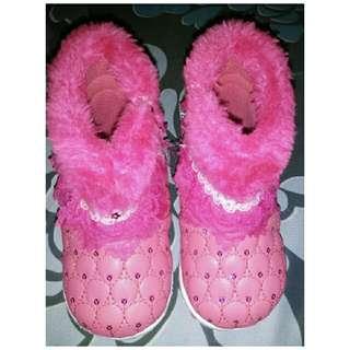 Sepatu Boot Pinky Girls