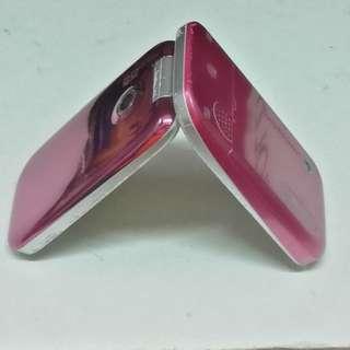 sony ericsson z610i pink flip cellphone