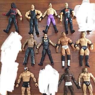 (SALE) AUTHENTIC WWE ACTION FIGURES
