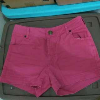 Hotpants (Celana Pendek) Pink Ukuran S