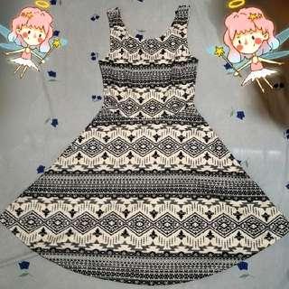 H&M Divided Aztec Dress