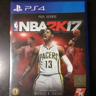 NBA 2K17 for PS4
