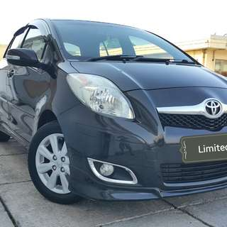 Toyota YARIS S limited 1.5 at 2011 black metalik