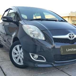 Toyota YARIS S limited 1.5 at 2011 black metalik