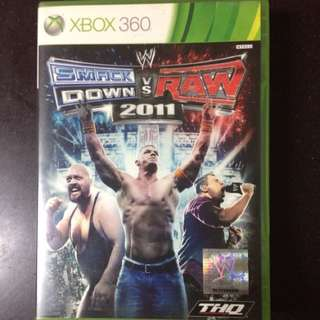 WWE Smackdown vs Raw 2011 for XBox 360