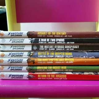 X-Venture Xplorers Comics (Used)