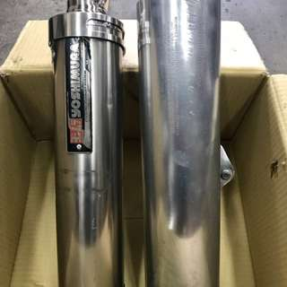 2nd Hand S'pore legal Exhaust Mufflers