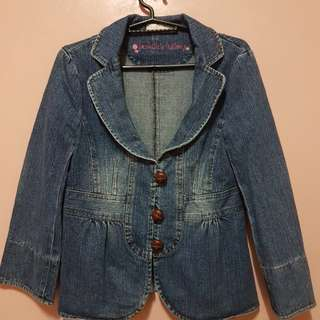 Maong Girly Blazer