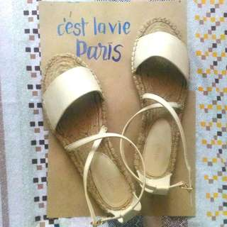 (FREE SHIPPING) Forever 21 Espadrille Sandals