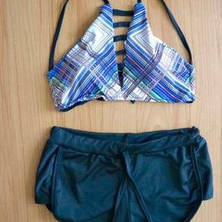 Swimsuit Terno Patterned