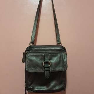 Fossil Leather Body Bag