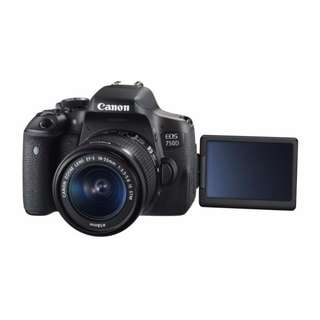 Canon 750D BRAND NEW