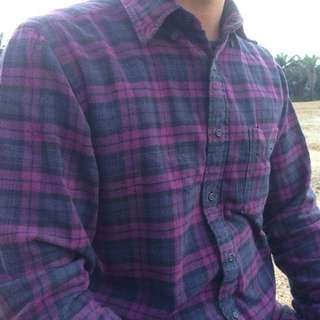 UNIQLO FLANNEL LONG SLEEVE