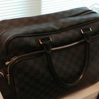 LOUIS VUITTON LV Icare Damier Ebene Canvas Travel bag