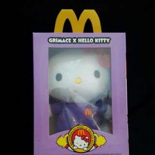 Limited Edition Hello Kitty Sanrio Plushie X Mcdonald