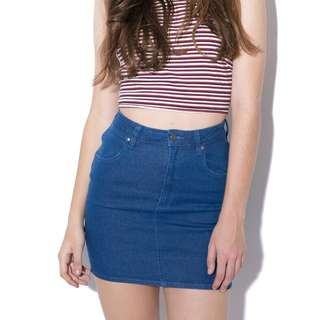Wranglr Hi mini Denim Skirt