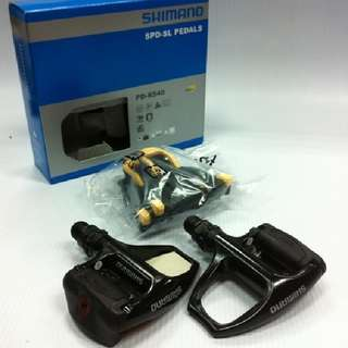 Shimano R540 SPD-SL Clipless Road Pedals Pedal