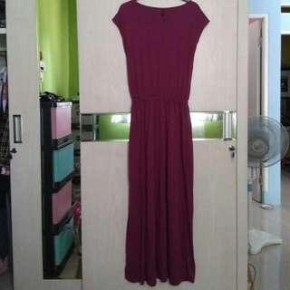 Dress Bahan Kaos Adem