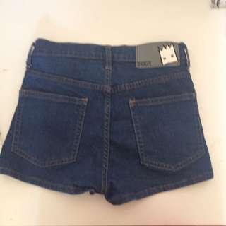 Ziggy High Waist Denim Shorts