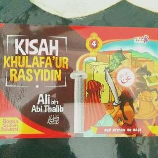 Kisah Khulafa'ur Rasyidin - Ali bin Abi Thalib Bk 4