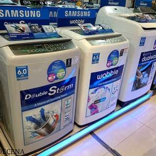 Brand New Samsung Automatic Washing Machine Topload & Frontload