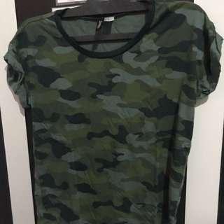Baju tentara h&m