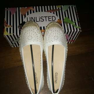Unlisted White Shoes