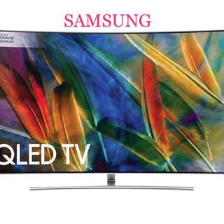 New Samsung QLED Smart Tv Qa55q7f Qa55q8f