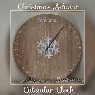 Christmas Advent Countdown Calendar Clock - LAST ONE