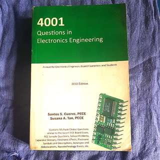 4001 Questions in Electronics Engineering