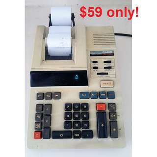 Casio DR-1212S Printer Calculator - Made in Japan.