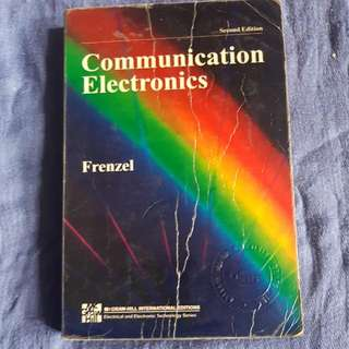 Communications Electronics By Frenzel