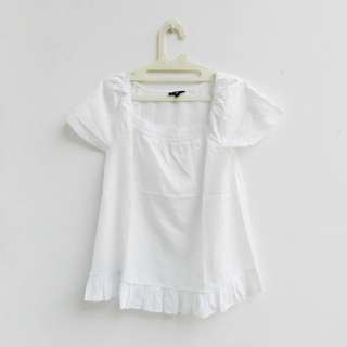 [PRELOVED] Gap - simple white tunic