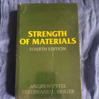 Strength Of Materials By Pytel and Singer