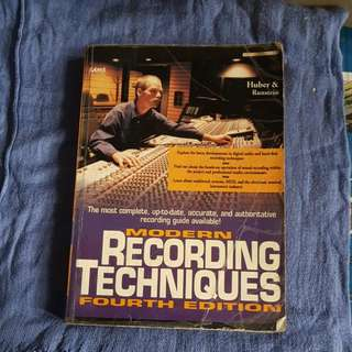 Modern Recording Techniques By Huber And Runstein