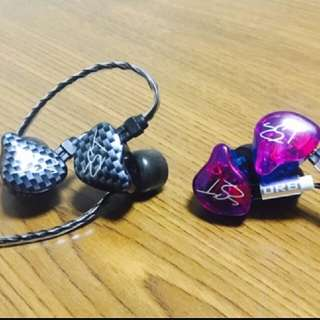 KZ ZST moving headset + silver plated line