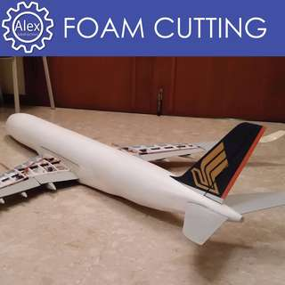 Foam Cutting - Hot wiring and Sanding for Styrofoam for building any RC plane models