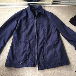 Navy blue jacket size m