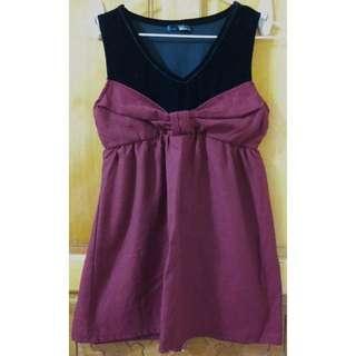 🚚 蝴蝶結 造型 背心 洋裝