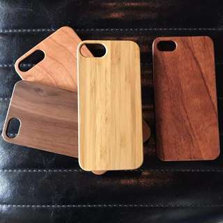 [iPhone 8/8+!] Custom Wood Engraved Cases for iPhone 8 and iPhone 8 Plus