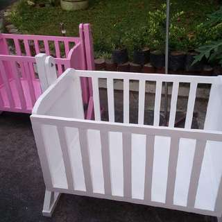 Wooden duyan/crib