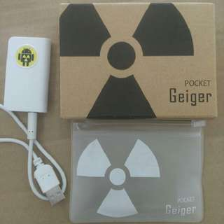 Android smartphone radiation detector type 6