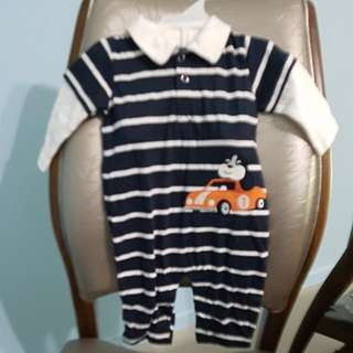 CLEARANCE Brand new CARTER'S BABY Long sleeve ROMPER