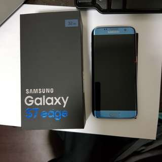 Coral Blue Samsung 32GB S7 edge