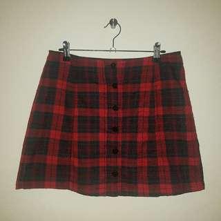Luck & Trouble - Tartan Skirt