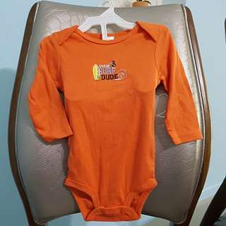 BRAND NEW CARTER'S Long sleeve baby romper